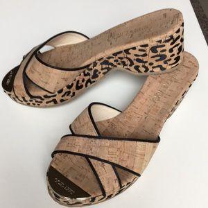 Jimmy Choo Crisscross Slide Sandal